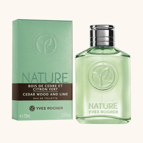Nature Homme Cédrusfa & Zöldcitrom Eau de toilette